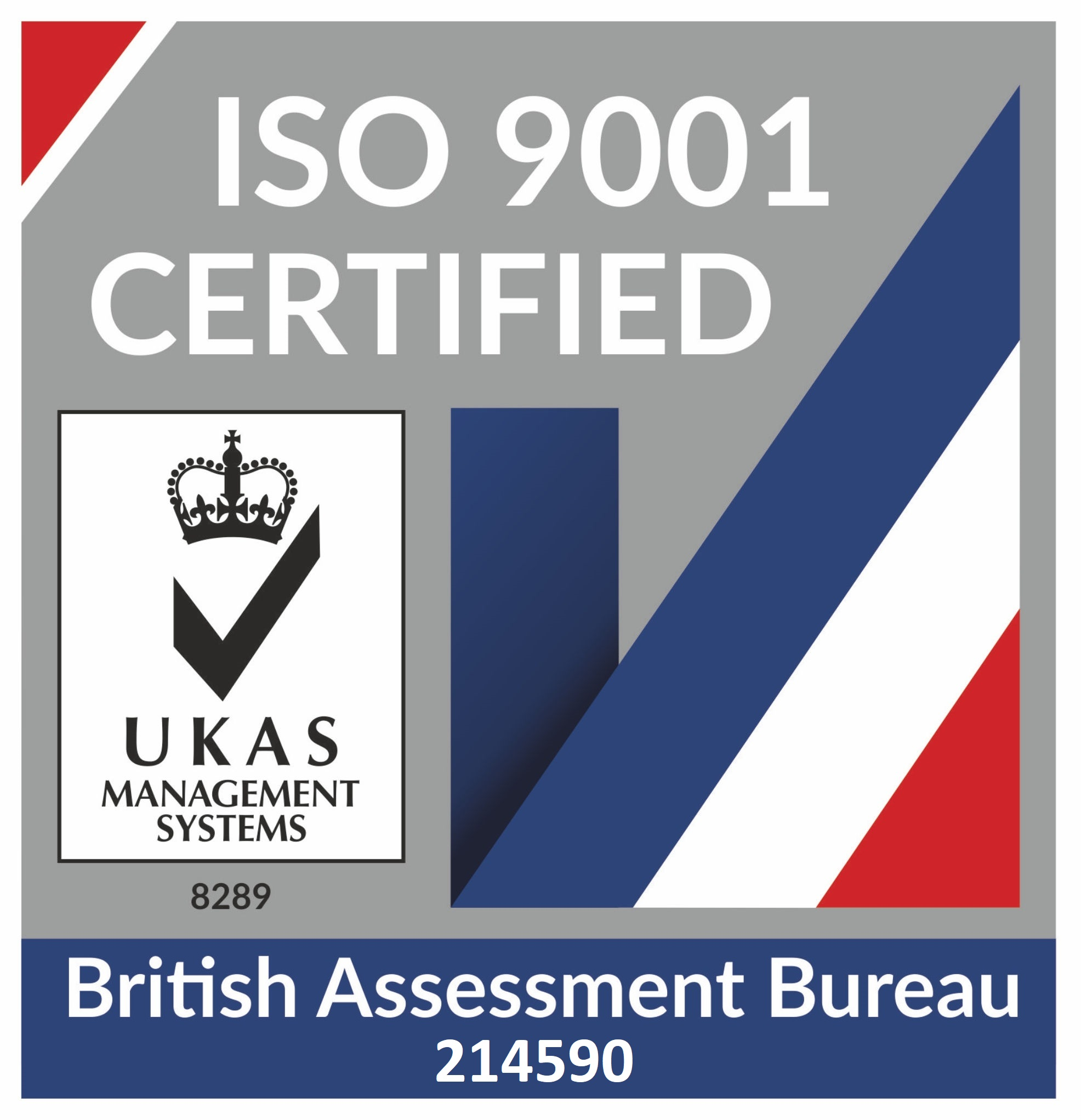 Iso certified 9001:214590
